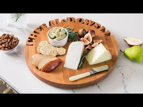 Made in the USA cutting boards that'll speak to you.