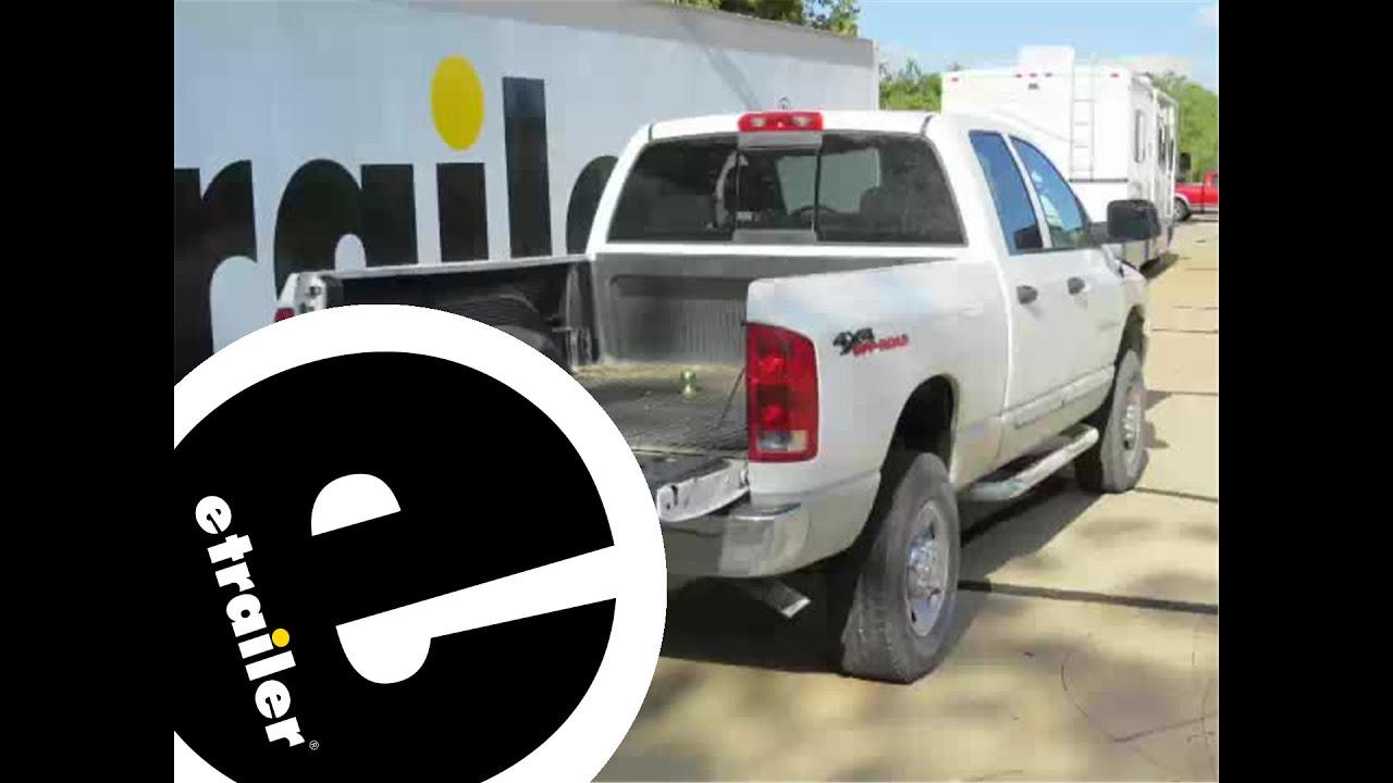 2015 Dodge Ram Trailer Wiring Gooseneck Trailer Hitch Installation 2004 Dodge Ram