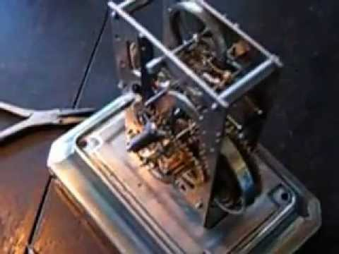 Antique JUNGHANS Alarm Clock ( Movement )