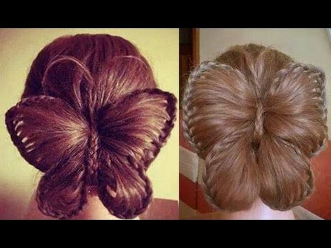 Butterfly Braid! Trenza Mariposa Videos De Viajes