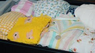 [GREEK 🇬🇷 ASMR] Suitcase Packing for Crete (semi-unintelligible whisper)