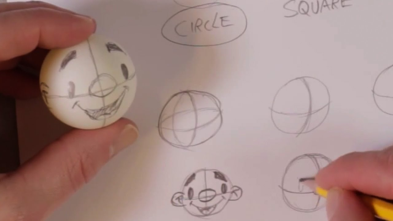 How To Draw A Circle Freehand Drawing Basics Part 1 Youtube