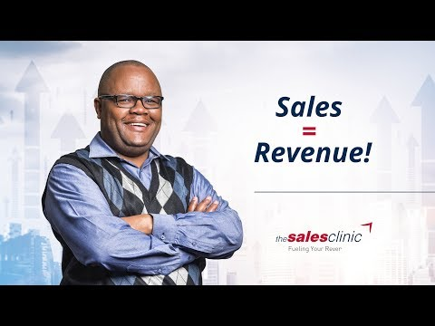 Sales = Revenue! Welcome to The Sales Clinic (@TheSalesClinicKe)