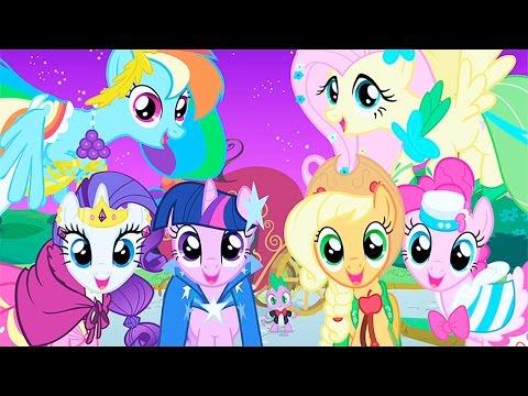 Игры мир пони. Играть в увлекательные и интересные игры