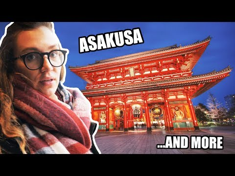 Trying FAKE FOOD - a GUIDE to ASAKUSA 浅草