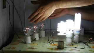 Teste com Lâmpadas - CIRCUITO SÉRIE E PARALELO
