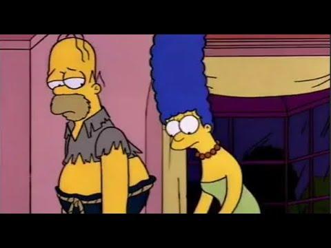 Симпсоны №12 Гомер стал бомжом