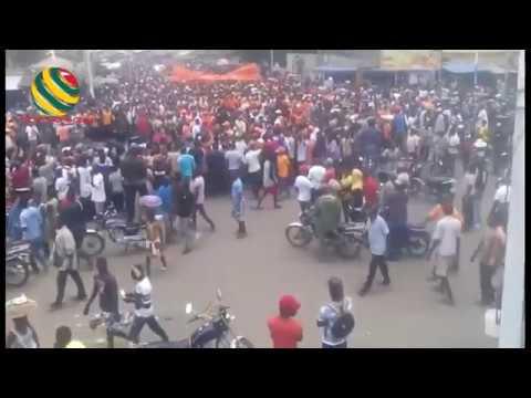 Deuxième jour de manifestation massive à Lomé contre la dictature Gnassingbé