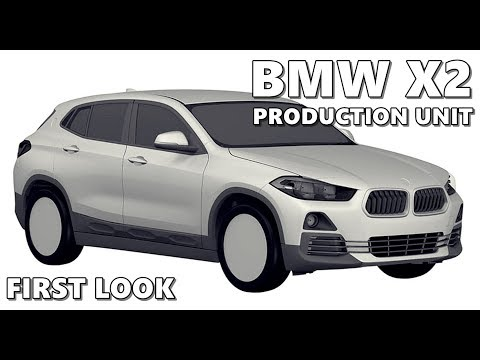 2018 BMW X2 (Production Version) Revealed in Patent Sketches