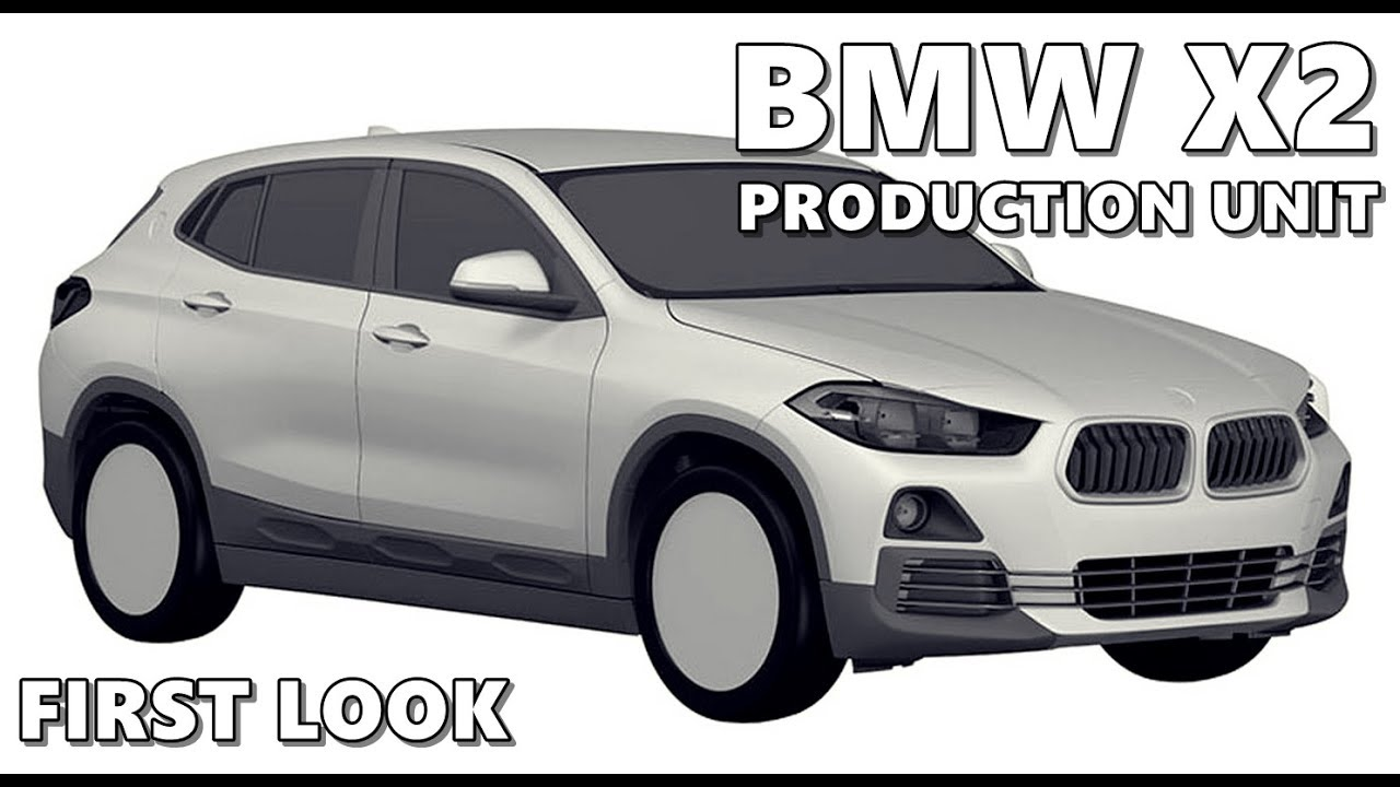 2018 bmw x2 production version revealed in patent sketches youtube. Black Bedroom Furniture Sets. Home Design Ideas