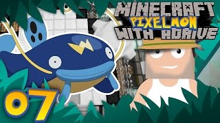 WHISCASH THE MONEYMAKER!! Minecraft PIXELMON LIVE with aDrive! Ep07- PocketPixels Red Let's Play!