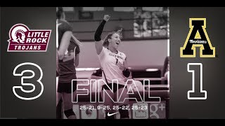 Volleyball Highlights vs. Appalachian State