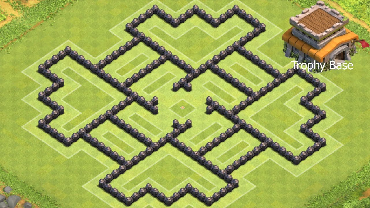 Clash of Clans - Rathaus 8 (RH8) Trophy Base I Clash of ...