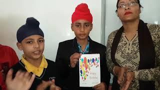 Birthday Celebration of Inderjit in Victoria International School Mukerian