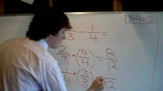 Adding and Subtracting Fractions 2 of 2
