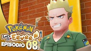 SFIDO LT SURGE CAPOPALESTRA! - Pokémon Let's Go Eevee ITA #8