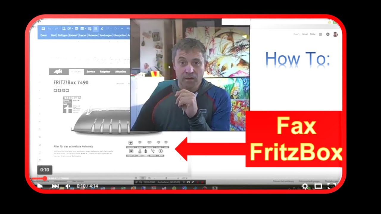 fritzbox 7590 faxen