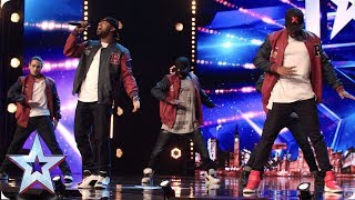 KNE's cheeky surprise WOWS the Judges | Auditions | BGT 2019