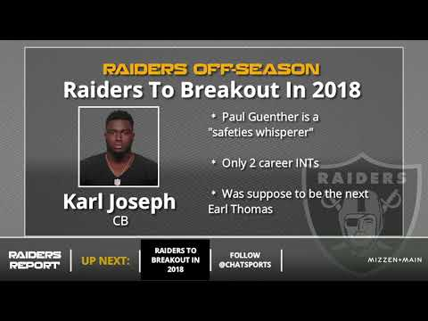 5 Oakland Raiders Players Who Will Breakout In 2018