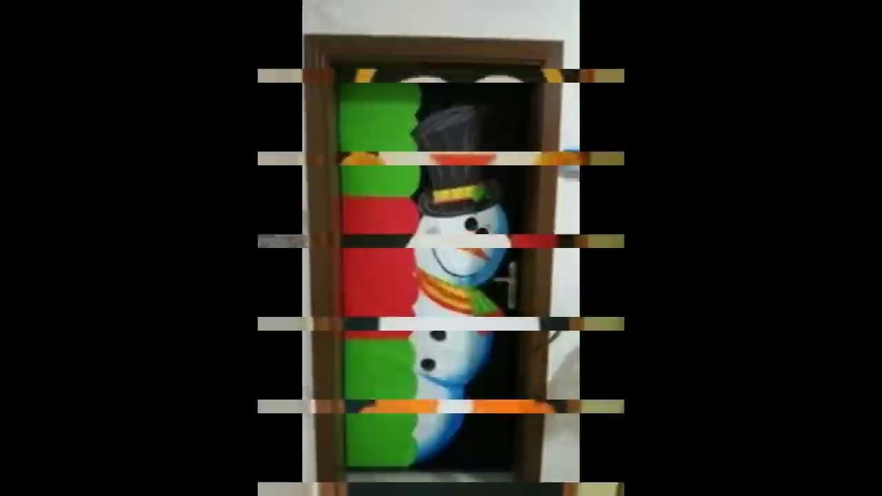 ideas para decorar puertas en navidad youtube