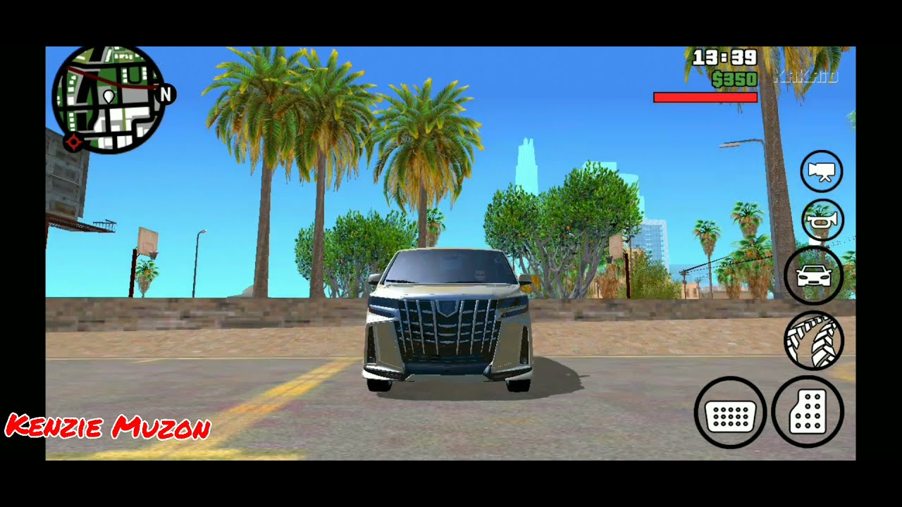 9mb Mod Mobil Alphard Dff Only No Txd Gta San Andreas Android Youtube