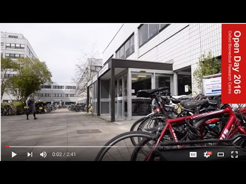 Oxford Biomedical Research Centre: Open Day 2016