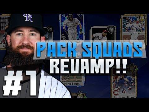 MVP PULL? 2 GOOD PULLS! REVAMP PACK SQUADS #1! MLB 17 DIAMOND DYNASTY!