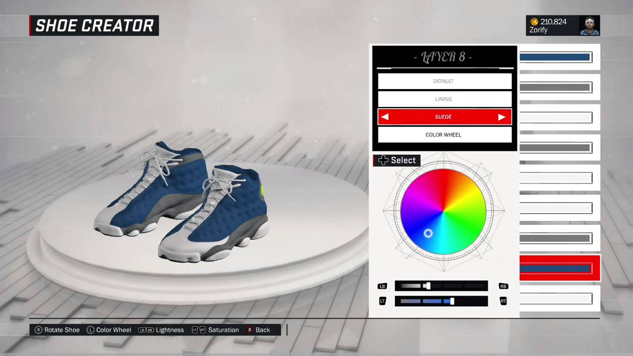 f75ca257754aa9 NBA 2K17 Shoe Creator - Air Jordan 13