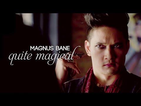 magnus bane || quite magical
