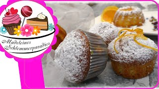 Orangen Muffins mit Joghurt