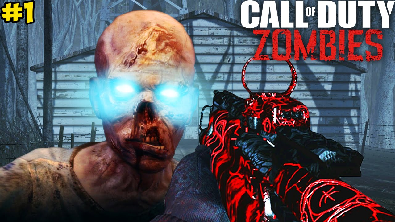 """CREEPY FOREST ZOMBIES!"" – Call of Duty Zombies ""NECRO FOREST"" Custom Map #1! (COD Zombies)"