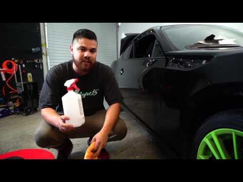 HOW TO PREP A CAR FOR VINYL WRAP (STEP 1)