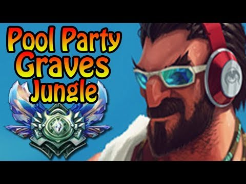 Graves Jungle Ranked Full Gameplay | League of Legends