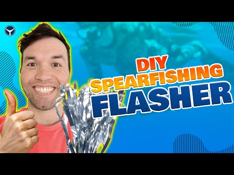 How To MAKE A Spearfishing Flasher For CHEAP With Bret From @SpearFactor