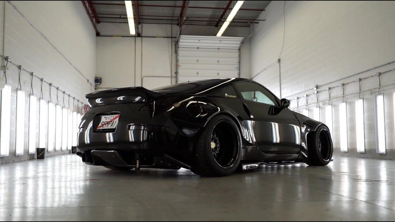 SINGLE TURBO HR 350Z VS M4 BMW!!