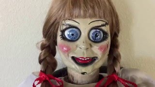 The Conjuring Annabelle Prop Doll Full Review Pt 2