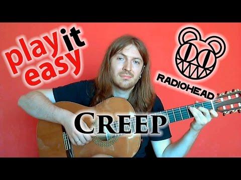 Creep - Play It Easy - Radiohead guitar cover + sheet music + tabs