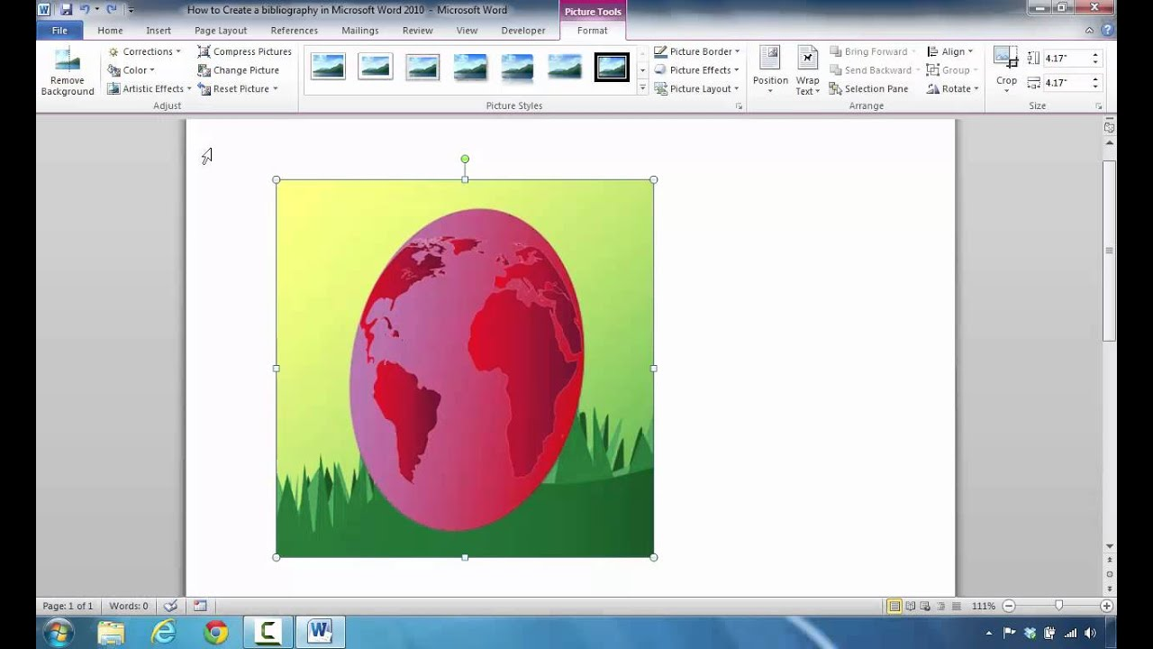 How To Picture Tools And Remove Image Backgrounds In Microsoft Word 2010