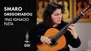 1962 Ignacio Fleta - Smaro Gregoriadou plays Bach Allemande BWV 1007