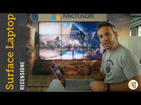 RECENSIONE Microsoft Surface Laptop