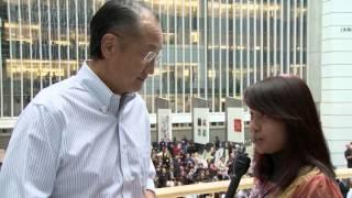 مباشر مع بابسي: نظرة رئيس مجموعة البنك الدولي المفعمة بالشباب