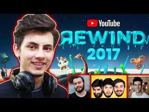 Download Youtube: YOUTUBE REWİND 2017 TÜRK YOUTUBERLAR (TEPKİ)