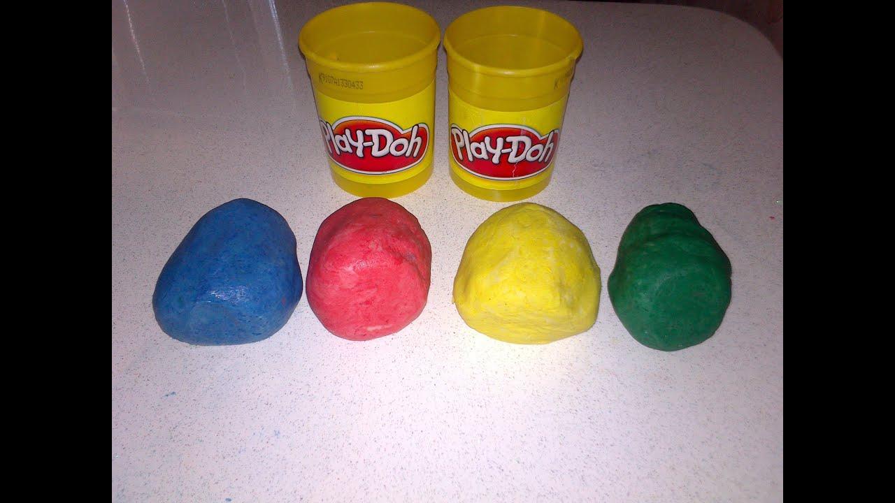 Тесто для лепки Play Doh лепим милую овечку - YouTube