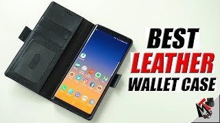 Galaxy Note 9 - Premium Leather Wallet Case iPulse