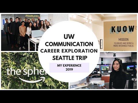 UW Communication Career Exploration Trip - Seattle 2019