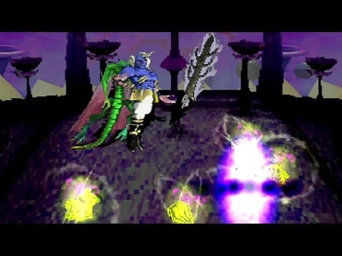SaGa Frontier: Blue's Storyline - Final Boss Battle with HellLord