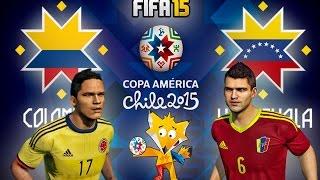 FIFA 15 Copa América 2015 Colombia vs Venezuela
