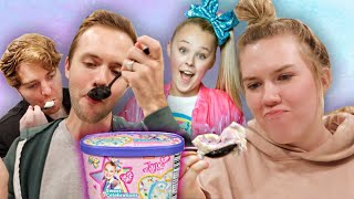 TRYING JOJO SIWA'S ICE CREAM