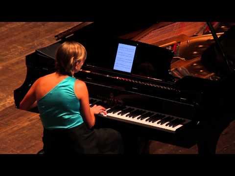 Kara Huber performs Rakowski's Etude #68 Absofunkinlutely