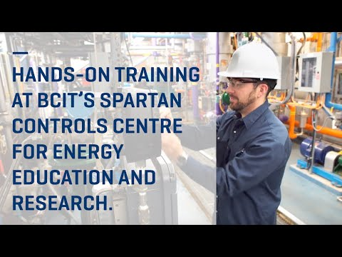 BCIT's Spartan Controls Centre For Energy Education And Research Gives Students An Edge